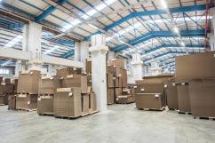 На Алексинской фабрики открыли новый склад для гофрокартона